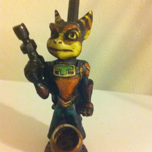 Handmade-TOBACCO-PIPE-Ratchet-from-Ratchet-Clank-Tobacco-Pipe-B00F6EWFSA